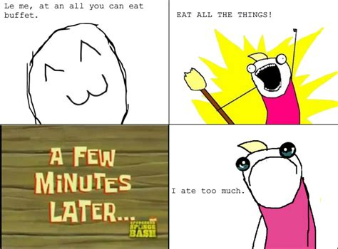 All The X Meme - all you can eat le rage comics