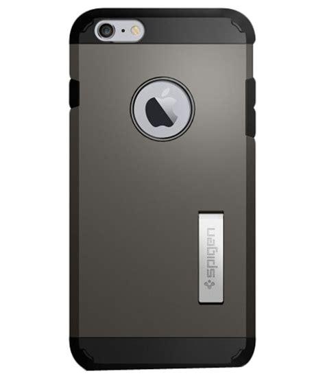 Spigen Iphone 6s Plus 6 Plus spigen back cover for apple iphone 6s plus 6 plus grey buy spigen back cover for apple