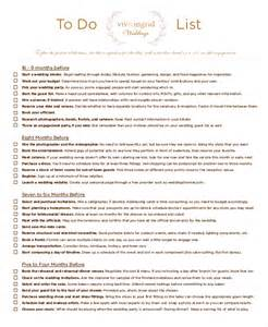 Simple To Do List Template by 8 Wedding To Do List Free Sle Exle Format