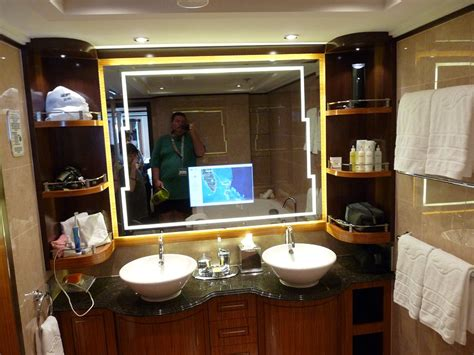 funky bathroom mirrors 28 images home tour guest our adventures disney dream maiden voyage