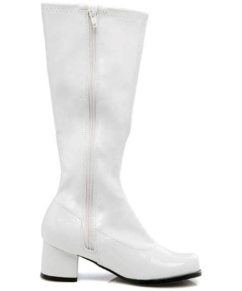 white go go boots white go go boots costume