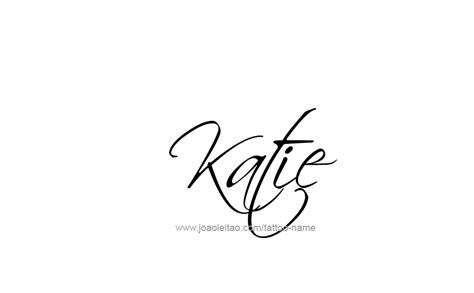 name katie tattoo designs design name 13 png