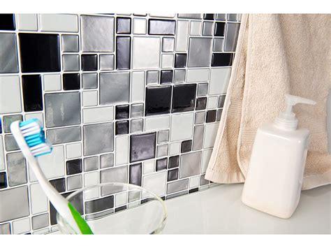 Aufkleber Fliesenoptik by Infactory Selbstklebende Folie Selbstklebende 3d Mosaik