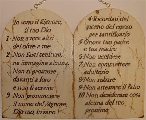 tavole comandamenti elenco dei dieci comandamenti ubi petrus ibi ecclesia