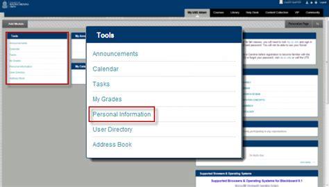 Usca Help Desk by Blackboard Update Your Email Address Usc Aiken The