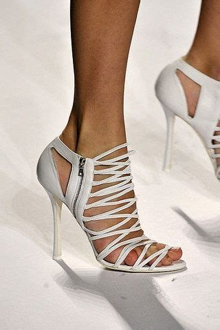 Toweringly Fabulous Footwear Extravaganza Heels From Guiseppe Zanotti Fashiontribes Fashion Shoe by 25 Best Ideas About White High Heel Sandals On