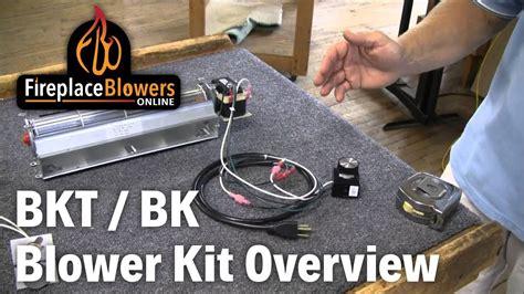 gas fireplace fan not working bk bkt fireplace blower kit overview youtube