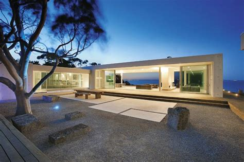 modern glass house contemporary cliff top house with glass bridge best home