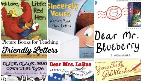 using picture books to teach writing teach friendly letter writing with picture books