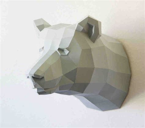 How To Make 3d Paper Animals - awesome do it yourself 3d paper animals by wolfram kffmeyer