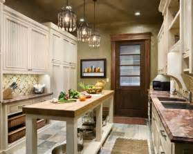 narrow kitchen design with island narrow kitchen island home design ideas pictures remodel