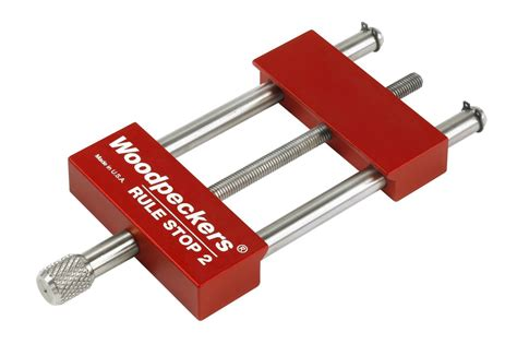 woodpecker woodworking tools woodpeckers precision woodworking tools rs 2 rule stop 2 inch