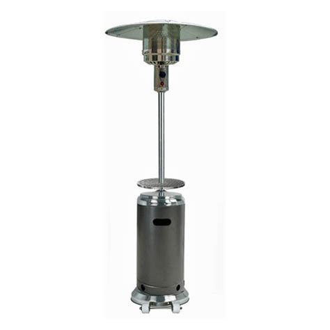 outdoor patio heater tower pyramid flame lp 42000btu