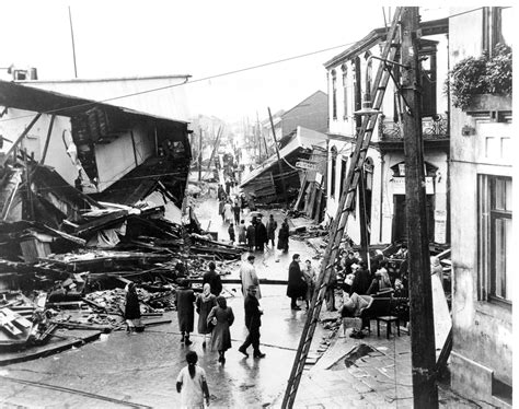 earthquake records when the biggest earthquake ever recorded hit chile it