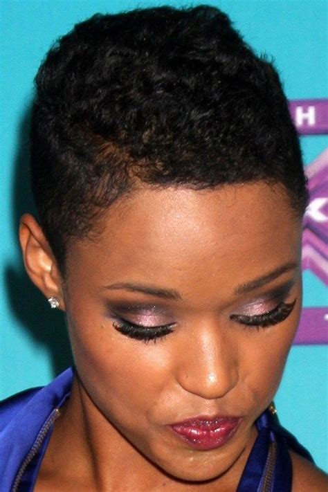 really pixie cuts for afro hair short haircuts african american women 2018 very short