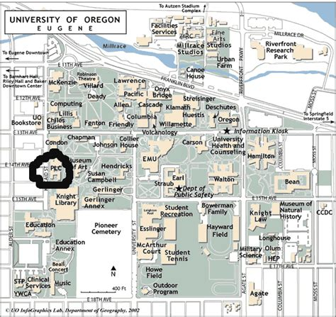 map of oregon colleges bill harbaugh homepage economics neuroeconomics