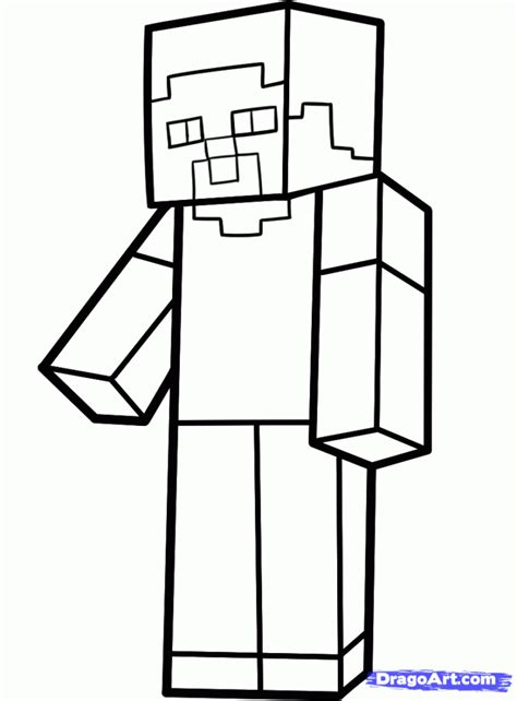 minecraft steve coloring pages free coloring pages minecraft steve coloring pages minecraft