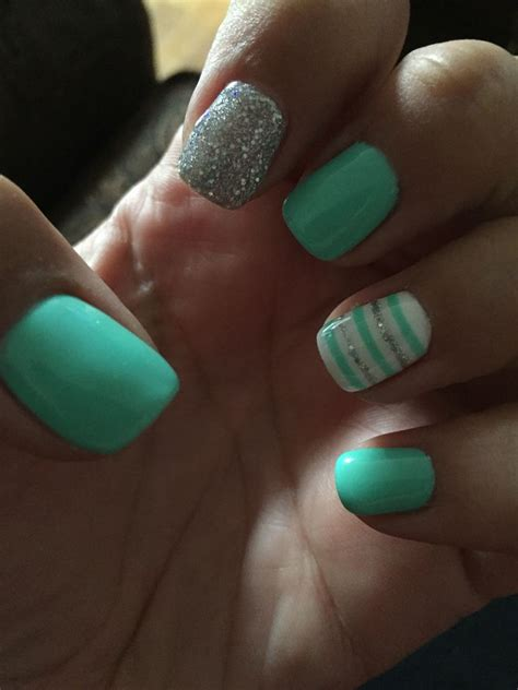 teal color nails the 25 best teal nail designs ideas on nails