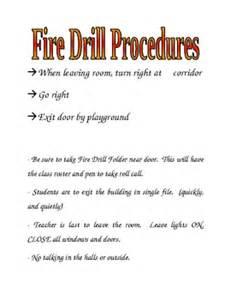 fire drill procedures by julie aiken teachers pay teachers
