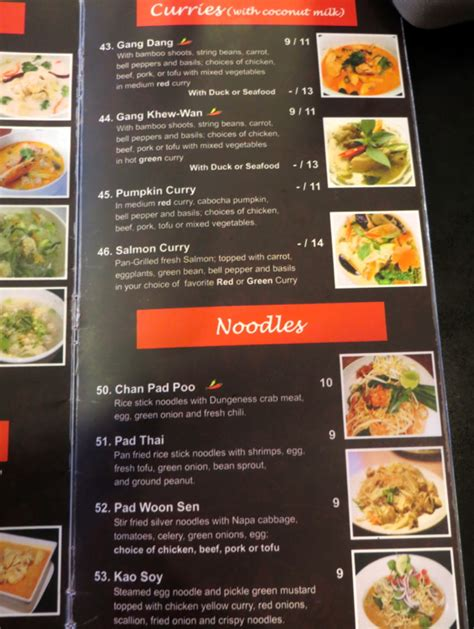 house of thai menu thai house express san francisco restaurant review