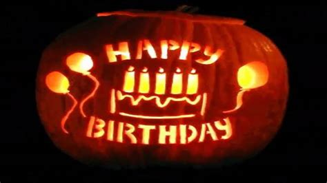 imagenes de feliz cumpleaños en halloween fel 237 z cumplea 241 os halloween happy birthday youtube