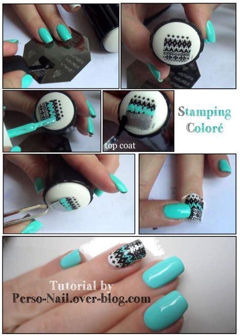 tutorial konad nail art sting sellos para decorar tus u 241 as como toda una profesional