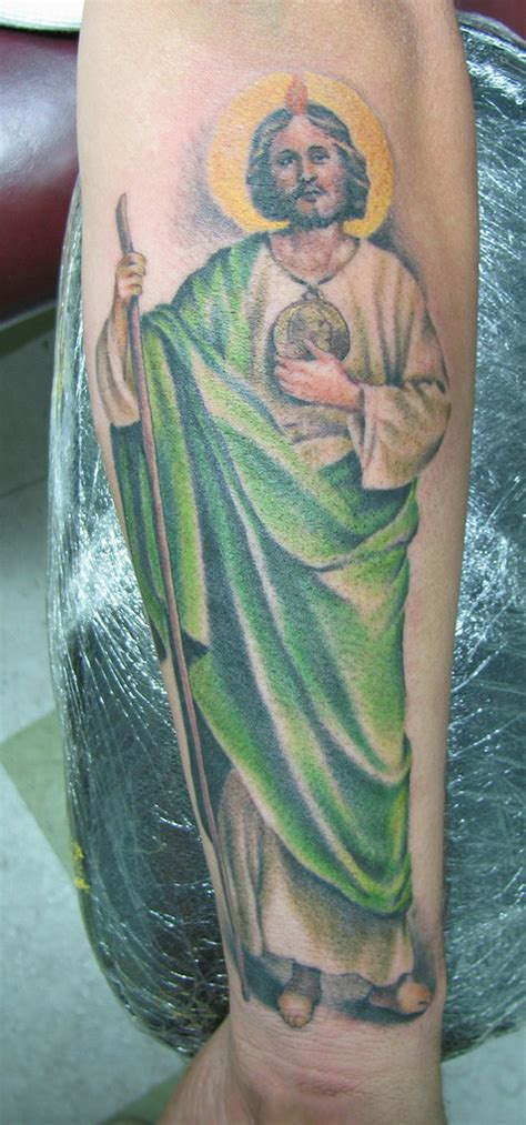 saint jude tattoo fernando casillas flickr