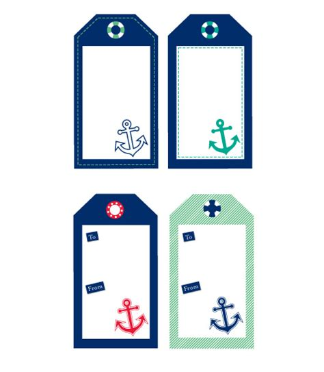 printable nautical labels free sailor nautical tags chic mother baby blog daily
