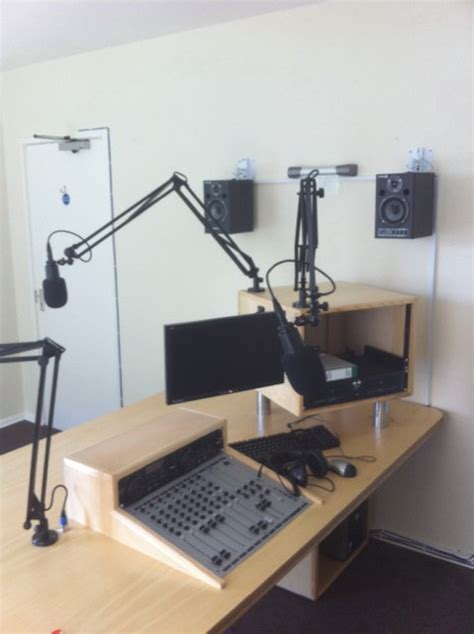 Radio Station Desk by Mixing Desk For The New Radio Station Kevin Healey Ambassador 4 Autism
