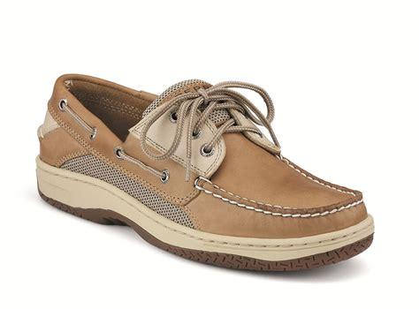 are sperrys comfortable sperry billfish 3 eye tan beige boat shoe men s yacht shop