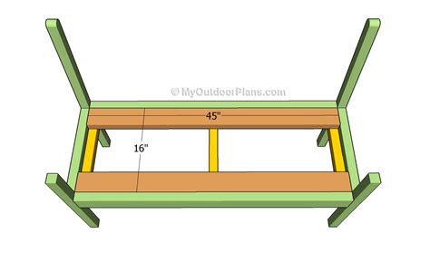 bench support how to build a garden bench free outdoor plans diy shed wooden playhouse bbq