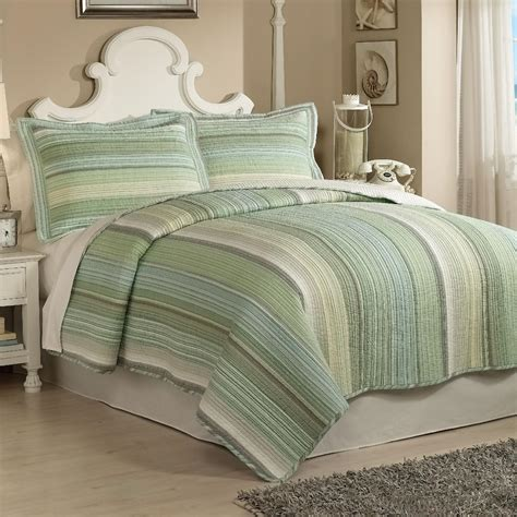 Retro Bed Sets Retro Chic Harbor Quilt Set Home Bed Bath Bedding Quilts Coverlets