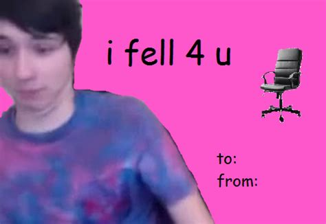 i am sorry danisnotonfire valentines day card idek if this