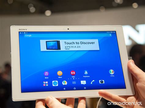 Tablet Sony Z4 sony xperia z4 tablet on android central