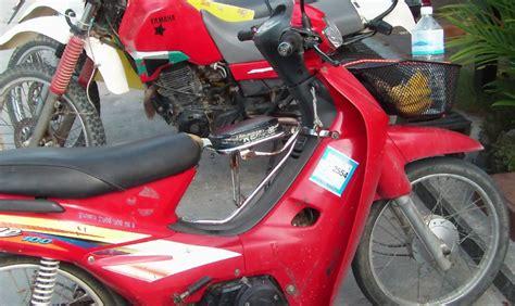 Vespa Rear Seat Children modern vespa tiny bikers in thailand