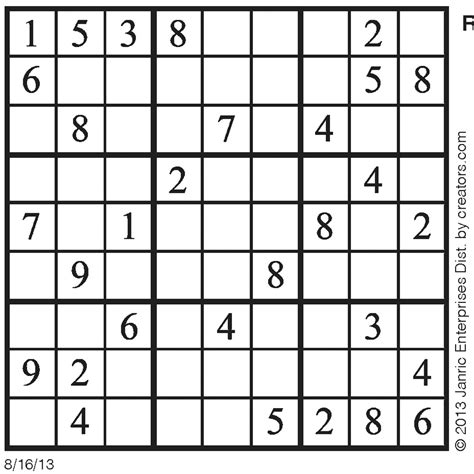printable 16 number sudoku 16 sudoku printable pictures to pin on pinterest pinsdaddy