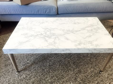 Diy Marble Coffee Table Diy Marble Top Coffee Table Change With Us