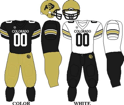 kent state colors colorado buffaloes football uniforms past and soon to be