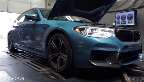 Car Dyno Types by 2018 Bmw M5 Produces Whopping 466kw At The Wheels On Dyno