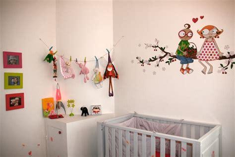decoration murale pour chambre de bebe visuel 8