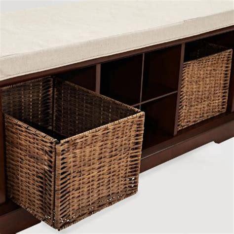 mahogany storage bench mahogany wood emlyn entryway storage bench world market
