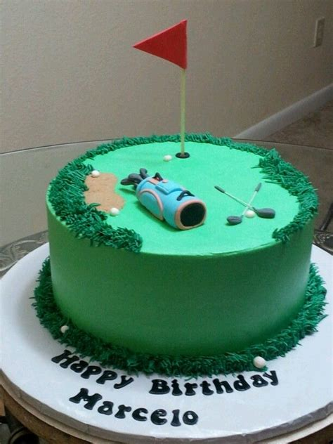 themed birthday cakes alberton golf theme cake my creations pinterest golf theme