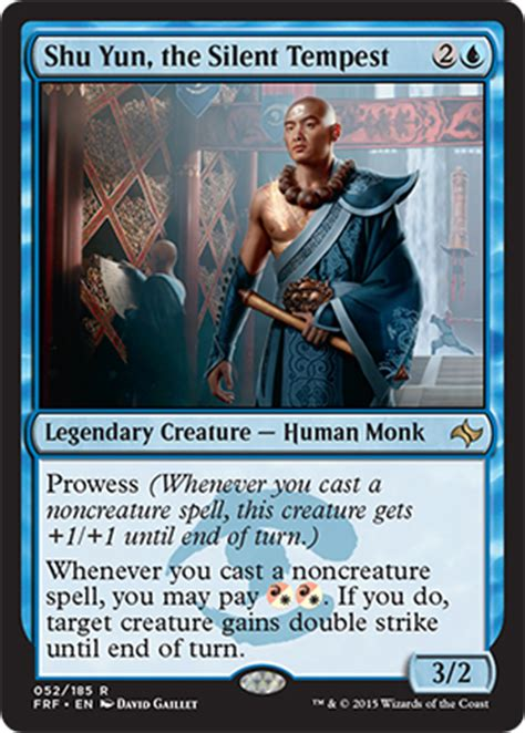 The Monk Who Cast A Spell gatheringmagic preview shu yun the silent tempest the