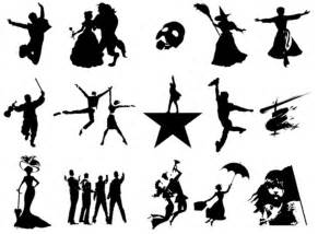 Roof Report Template silhouettes broadway musicals quiz by perspektive