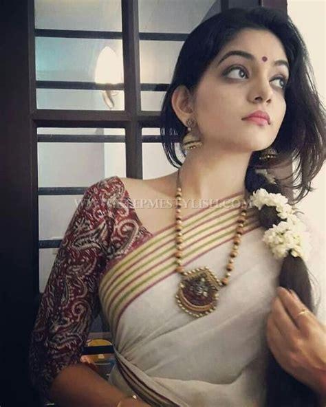 High Neck Blouse With Kerala Saree by 50 Pretty Kerala Saree Blouse Designs Keep Me Stylish