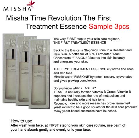 Harga Missha The Treatment Essence jual missha treatment essence sle 1ml gwen