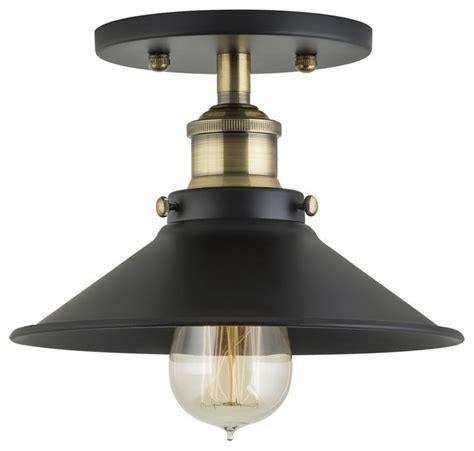Traditional Semi Flush Ceiling Lights Andante Semi Flush Mount Antique Brass Traditional Flush Mount Ceiling Lighting By Linea