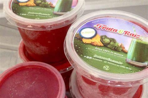 Polpas Em Pote Detox by Polpa Detox De Frutas Vermelhas