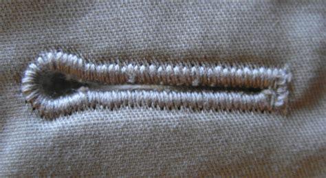 how do i knit a buttonhole buttonhole