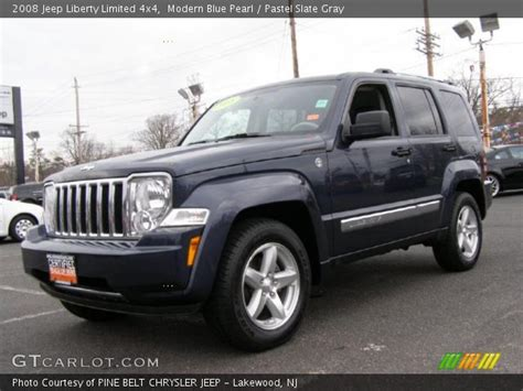 2008 Jeep Liberty Limited 4x4 Modern Blue Pearl 2008 Jeep Liberty Limited 4x4 Pastel